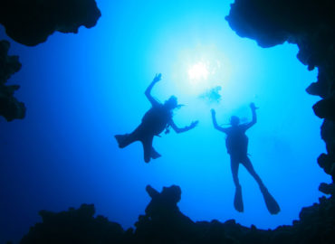 The Canyon Dive Site in Dahab